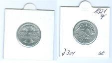 Weimarer Republik  50 Pfennig 1921 F  stempelglanz