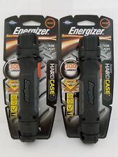2X Energizer Hardcase LED 300 Lumens AA Task Light High-Low Beam Flashlight