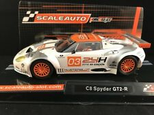 SC-6124  SCALEAUTO SPYKER C8 GT2-R HOME SERIES 1:32 scale SLOT CAR