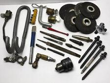 Lot Of Vintage Tools Stanley Grinding Brass Punch Locks Burner Welding Trailer