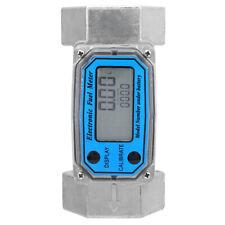 15 120l Turbine 15 Digital Flow Meter Gasoline Water Liquid Fuel Metering Mr