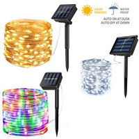 Wholesale Solar LED String Lights Waterproof Outdoor Fairy LED Decor Garland pat