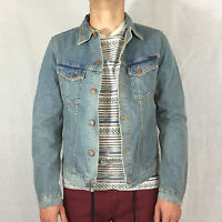 NUDIE Billy Männer Jeansjacke Denim Jacket Worn Clean 160489 🌿