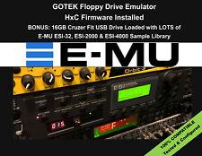 Floppy Drive Emulator HxC Firmware for E-MU ESI 2000 4000 32 EMU +SAMPLE LIBRARY