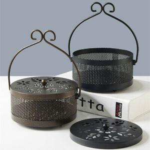 Mosquito Coil Holder Home Decor Retro Classical Design Portable Incense Burner