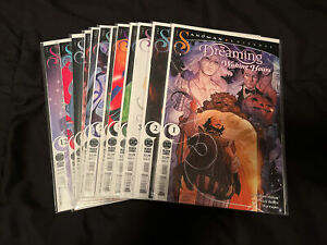 The Dreaming Waking Hours #1-12 Complete Set Sandman DC Comics  G Willow Wilson