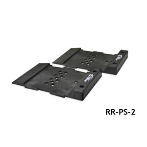 Race Ramps RR-PS-2 Pro-Stop Flatstoppers Modular Parking Guide (2 Per Box)