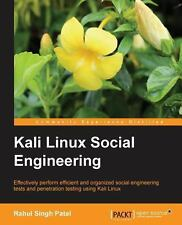 Kali Linux Social Engineering by Rahul Singh Patel (2013, Paperback, New...