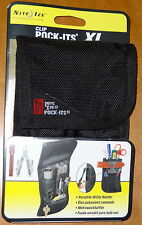 TOOL BELT POUCH HOLSTER holds MULTI TOOL POCKET KNIFE FLASHLIGHT KEYS & MORE