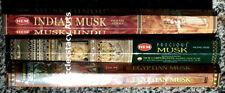 Hem Indian-Egyptian-Precious Musk 60 Incense Sticks Assorted Mix Sampler NEW