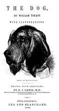 The Dog Book 1852 all breads training more