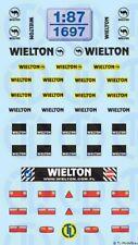 1697 - Decals Wielton Beschriftungen 1:87
