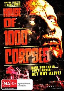 House Of 1000 Corpses (DVD) NEW/SEALED
