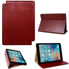 Schutzhülle für Apple iPad Air 1 Tablet Leder Tasche Smart Cover Case Stand rot
