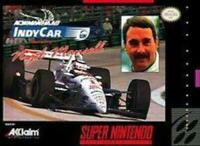 Newman Haas Indycar Feat. Nigel Mansell Super Nintendo Game SNES Used