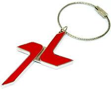 Fiat 500X 'X' Red Key Ring Keyring Key Fob Holder New + Genuine 50907716
