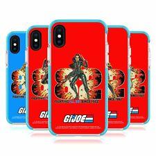 G.I. JOE 1982 GRAPHICS BLUE SHOCKPROOF GEL BUMPER CASE FOR APPLE iPHONE PHONES