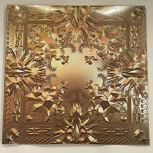 """Kanye West x Jay Z Watch The Throne 2LP Vinyl Limited Black 12"""" Record"""