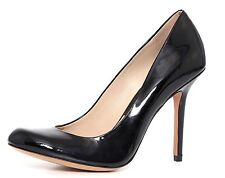 Michael Kors Collection Women's Black Patent Leather High Heels 2675 Sz 38.5 EUR