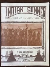Adolf Hungry Wolf INDIAN SUMMER Good Medicine Book #13 1975 Paperback Good Cond.
