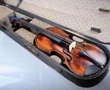 Vieja violín violín maleta de madera de Johann Georg thir Anno 1772
