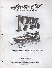 1996 Arctic Cat Snowmobile Wildcat Mountain Cat Parts Manual P/N 2255-374 (714)