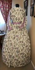 Civil War Reenactment Day Dress Size 18 Double Pleated Sleeves