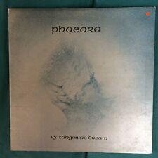 TANGERINE DREAM PHAEDRA VIRGIN RECORDS GATEFOLD UK V2010 1973 FIRST PRESS VG