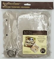 Recollections Necessities Chipboard Scrapbook Memory Album Photo Book Kit  21 Pc