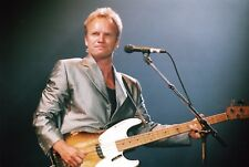 STING PHOTO 1996 HUGE UNIQUE IMAGE UNRELEASED 12 INCH EXCLUSIVE  LONDON RARITY