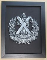 Large Scale Framed CAMERONS Badge Plaque