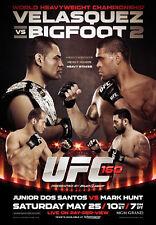 UFC 160 VELASQUEZ v BIGFOOT II (Las Vegas 5/25/2013) Official 27x39 Event POSTER