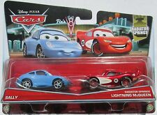 VOITURE DISNEY PIXAR CARS SALLY CRUISIN MC QUEEN COLLECTION 2015