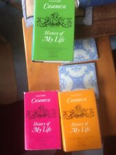 Giacomo Casanova History of my life in 3 volumes