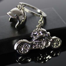 Motorcycle Helmet Key Rings Motor keychain Metal Motocross Smart Key Holder Gift