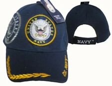 U.S. Navy Seal Crest Feather Eggs Shadow Blue Embroidered Cap Hat 602B TOPW