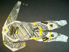 MSR Rockstar Energy Combo Hose Jersey 32/M NEU Cross KTM Suzuki Weiß RM-Z RM UFO