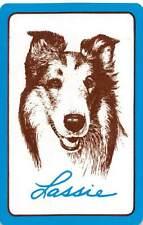 Lassie TV Movie Collie Dog Single Swap Playing Card Vintage Joker