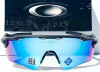 NEW* Oakley RADAR EV Matte Black POLARIZED PRIZM Deep Water H2O Sunglass 9208-55