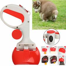 Pet Cat Waste Pickup Poop Scooper Remover Picker Scoop Tool Portable Toilet bowl