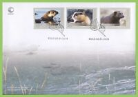 Norway 2010 Fauna set on First Day Cover