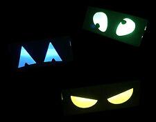 Halloween Spooky Ösen fluoreszierend Leuchtstab Kiste Dekoration Gruselig Garten