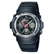 Mens Casio G-shock Alarm Chronograph Watch Aw-590-1aer