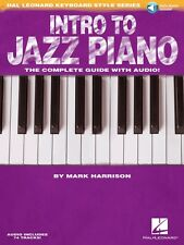 Intro to Jazz Piano Hal Leonard Keyboard Style Series Keyboard Instruc 000312088
