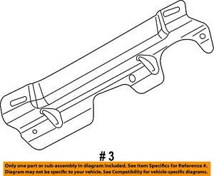 SRT CHRYSLER OEM 2013 Viper-Door Trim Panel Upper Bracket Right 5043026AC