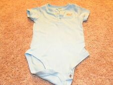 Carter's Toddler Boys Light Blue White One Piece Outfit 9 months