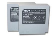 2x original vhbw® AKKU 700mAh für SAMSUNG BP-85ST IA-BP85ST VP-MX20