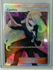 Pokemon Cynthia 148/156 Full Art Ultra Rare Light Played Ultra Prism Trainer HOT