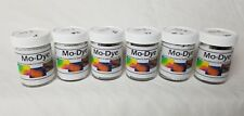 Mo-Dye Powdered Mohair Fabric Dye Lot of 6 Containers New