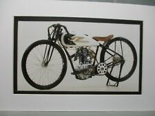 1927   Harley Davidson Model   S Peashooter     in  color Motorcycle Archives